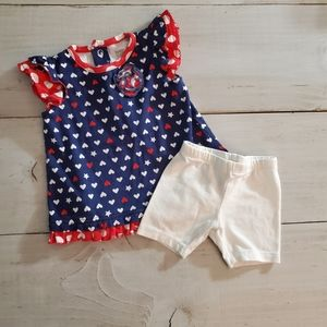 9 month Fourth of July Outfit